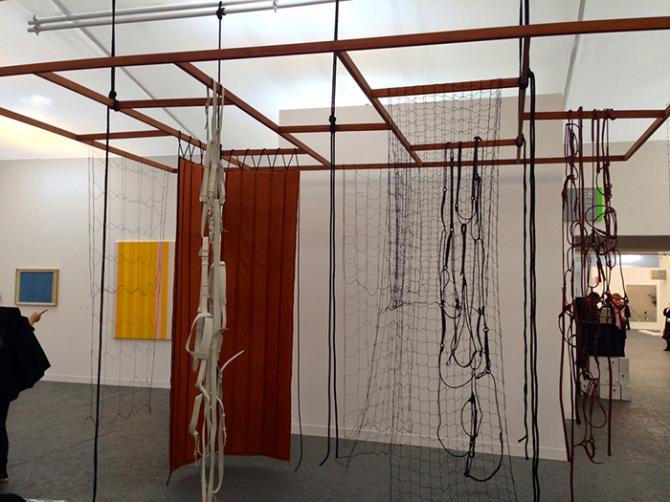 Leonor Antunes, Discrepâncias com T.P. (II), 2012.